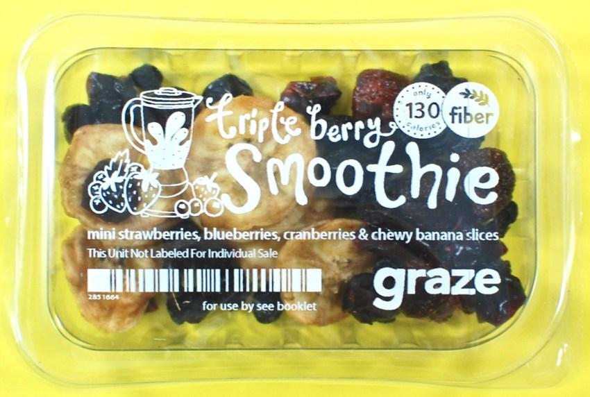triple berry smoothie graze
