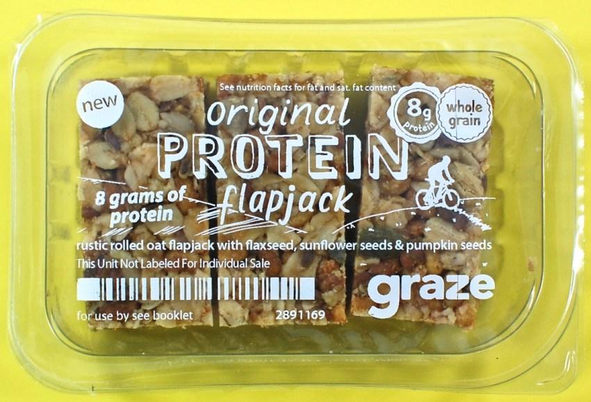 graze flapjacks
