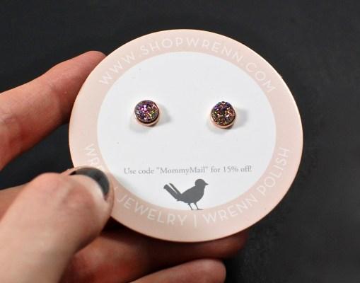 Wrenn Jewelry druzy earrings