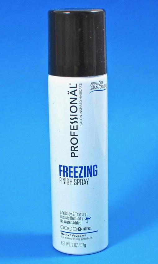 Professional freezing finish spray
