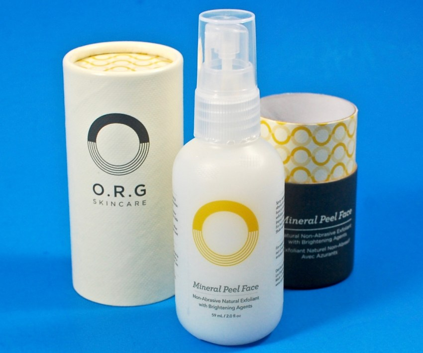 mineral face peel