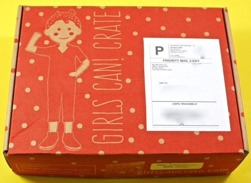 Girls Can! Crate review
