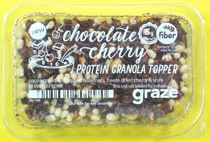 Graze granola topper