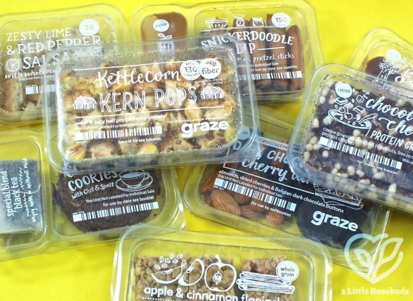 Graze December 2016 Subscription Box Review & First Box FREE