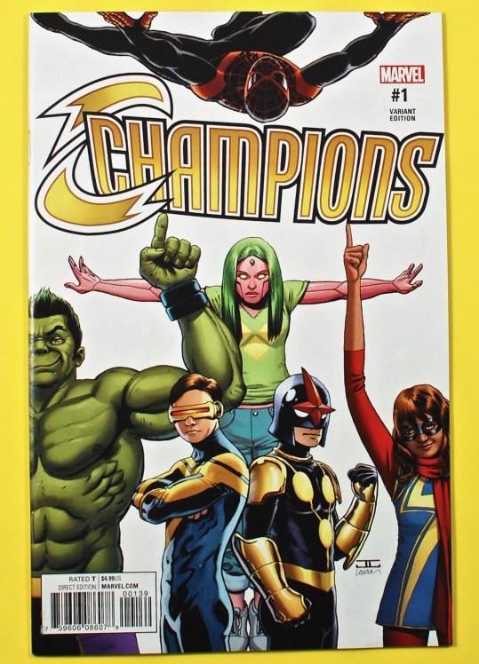 Marvel Champions #1 comic