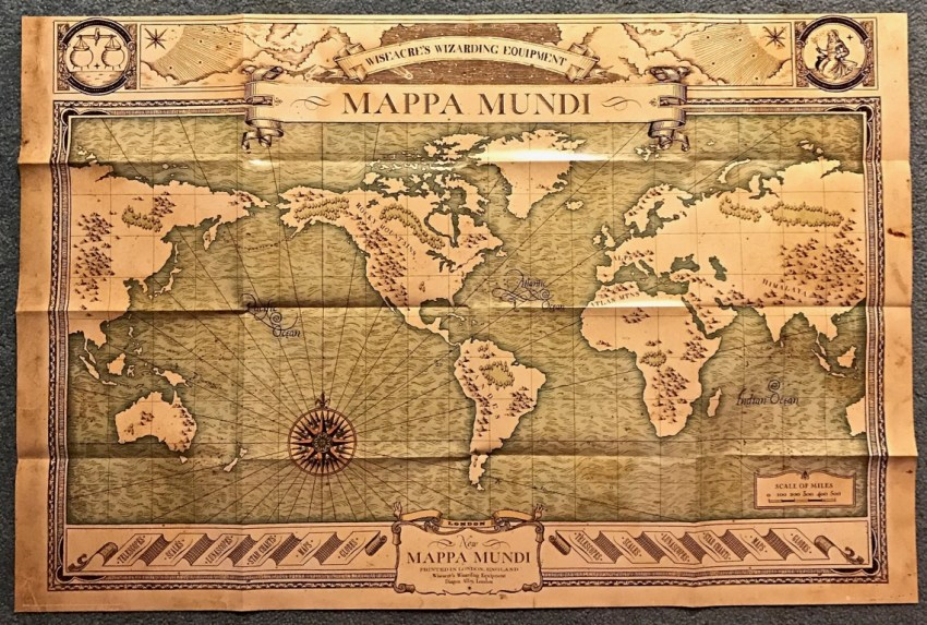 Fantastic Beasts map