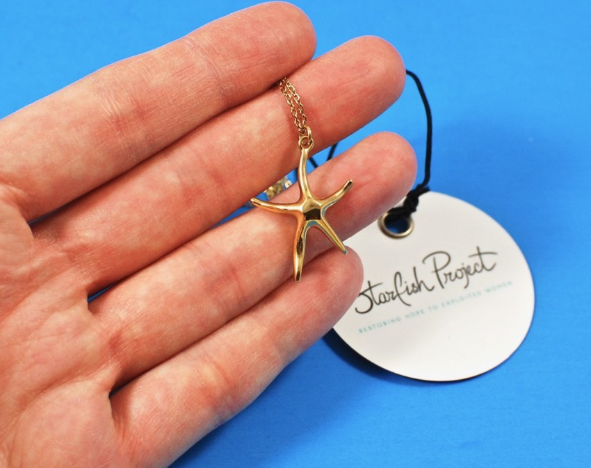 Starfish Project necklace starfish
