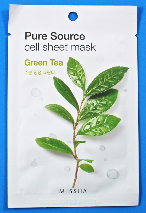 Missha Pure Source cell sheet mask