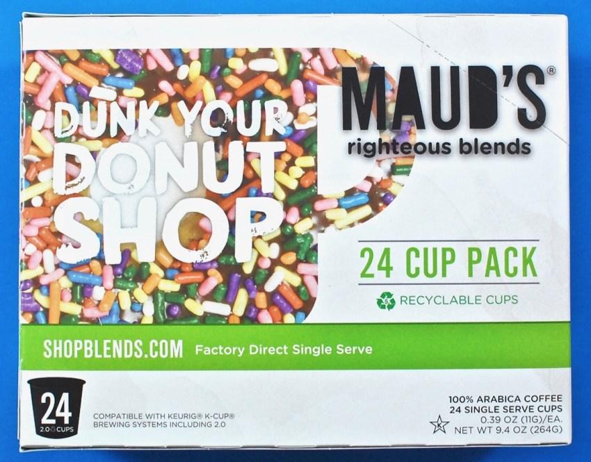 Maud's donut shop coffee