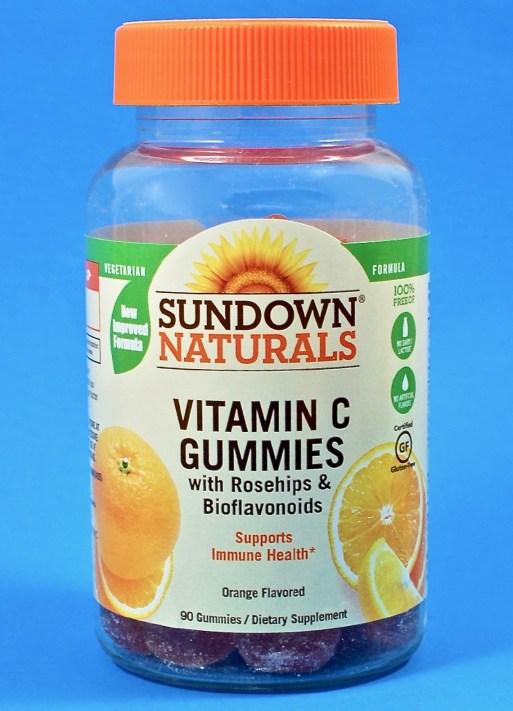 Sundown Vitamin C gummies