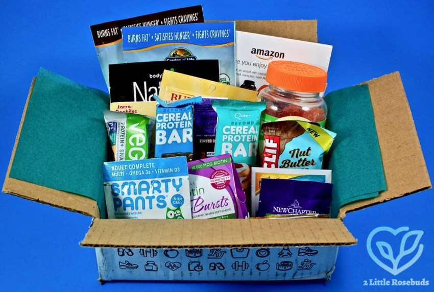 Amazon New Year New You box review
