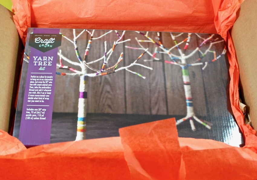 yarn tree craft
