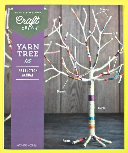 Craft Crush yarn tree