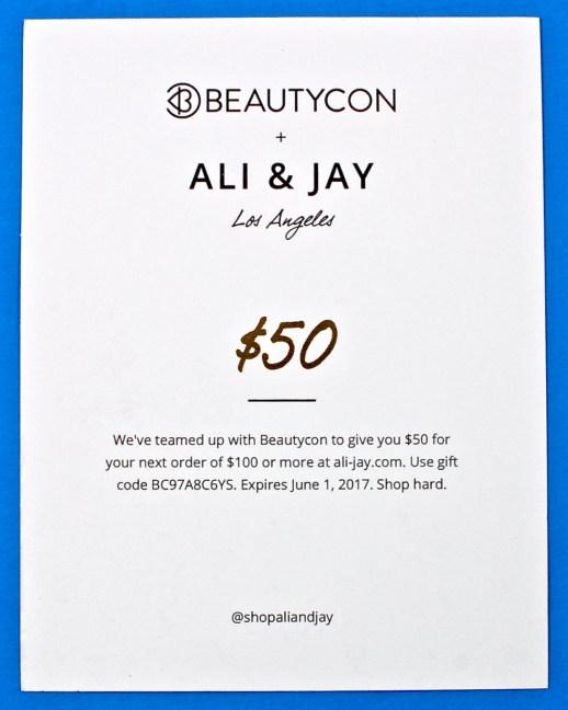 Ali & Jay gift card