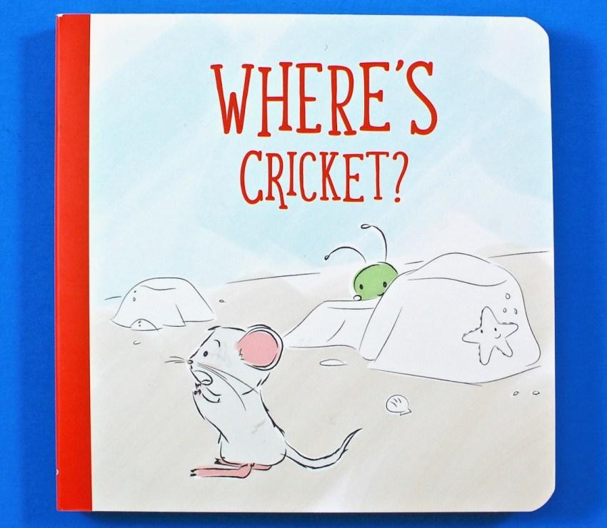 Where's Cricket? board book