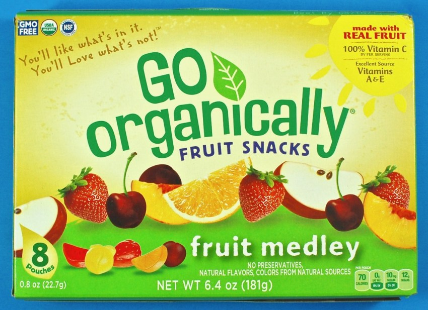 Go Organically fruit snacks