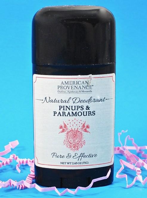 American Provenance deodorant
