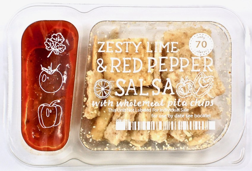 Graze pita chips & salsa