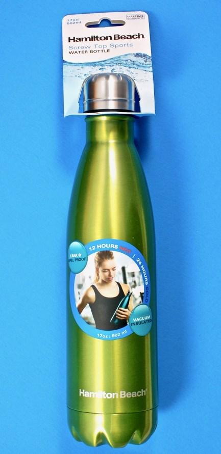 Hamilton Beach steel bottle