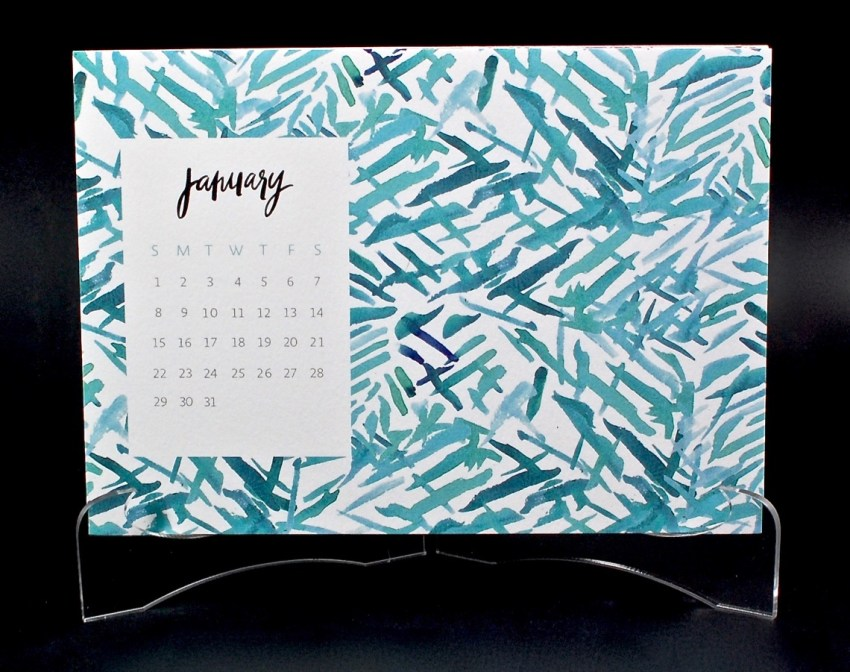 May Designs desk calendar