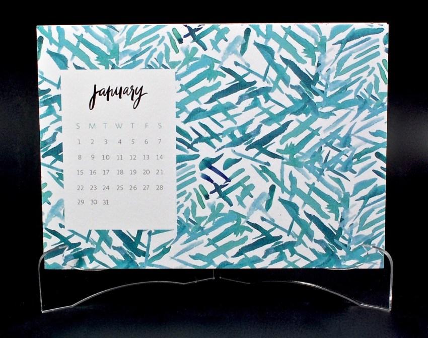 May Designs desk calendar