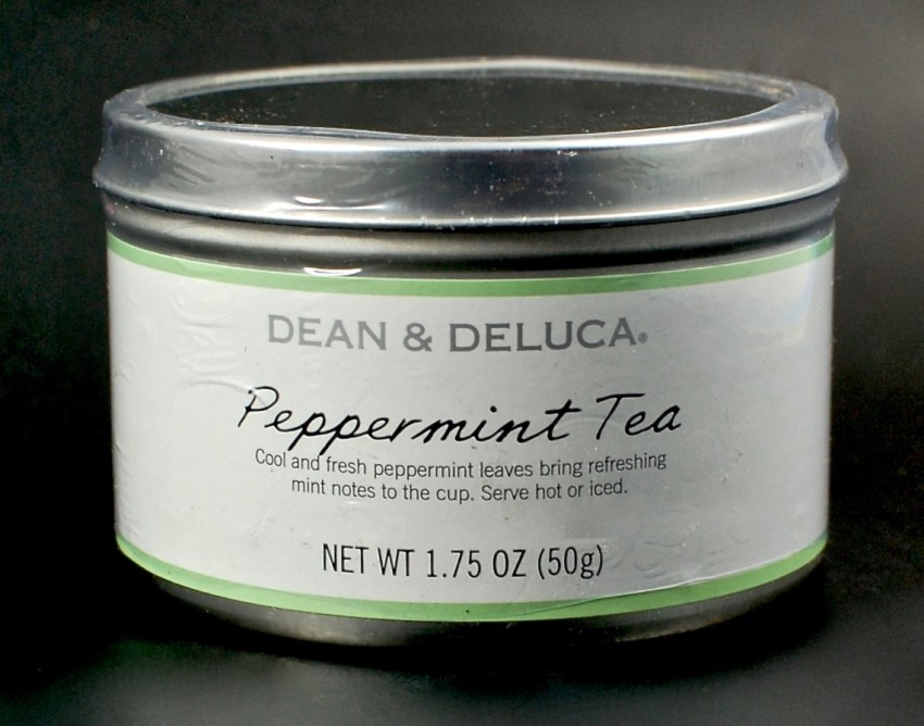 Dean & Deluca peppermint tea