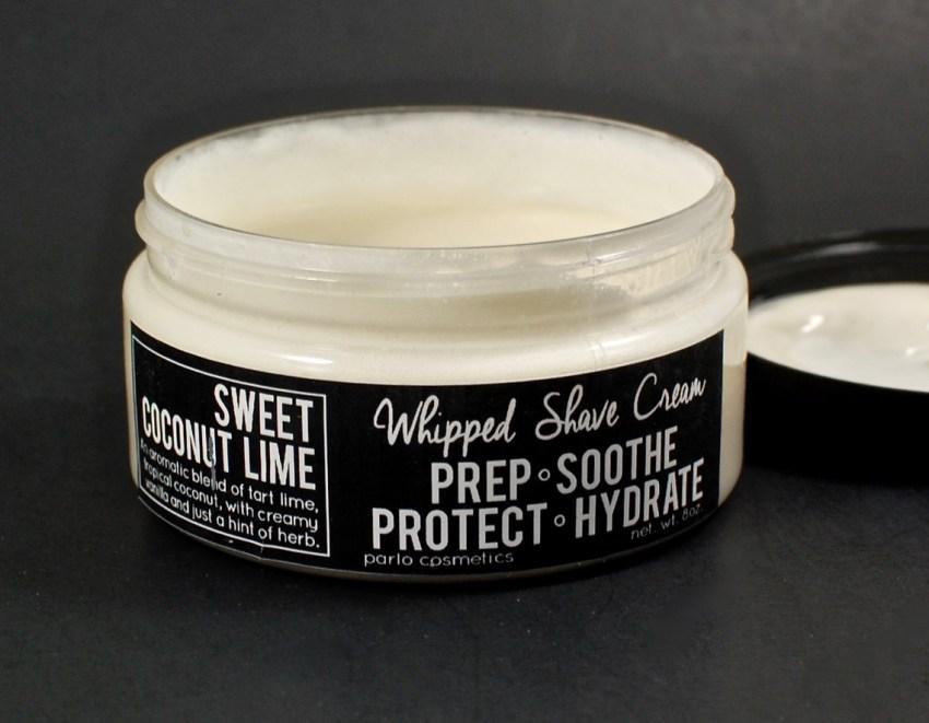 Parlo Cosmetics shaving cream