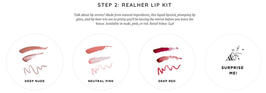 RealHer lip kit