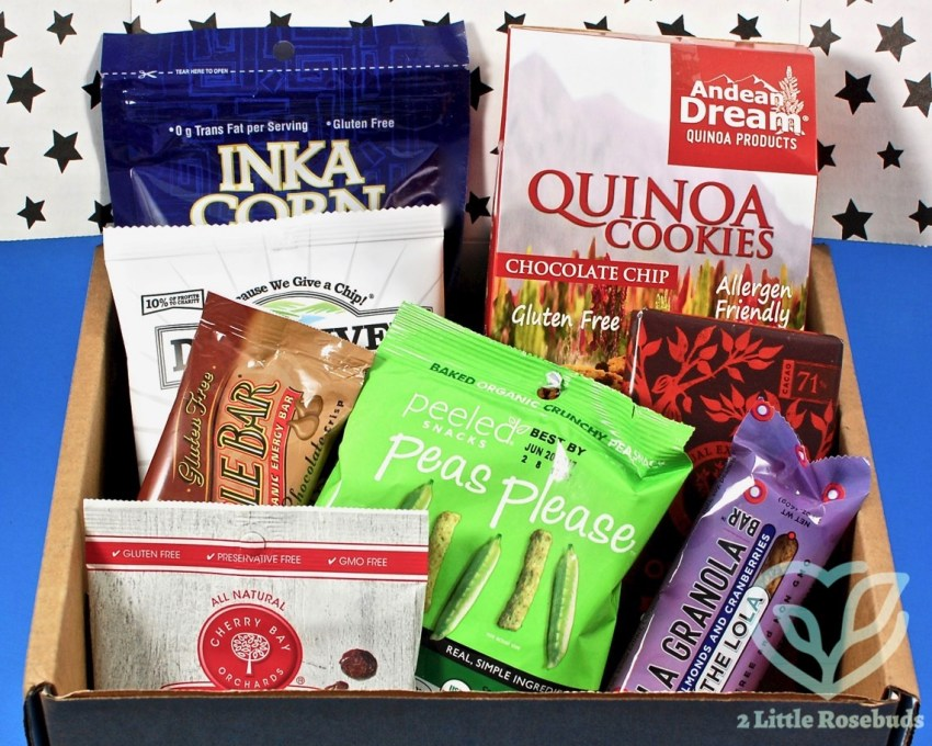 February 2017 American Gluten Free discovery box review