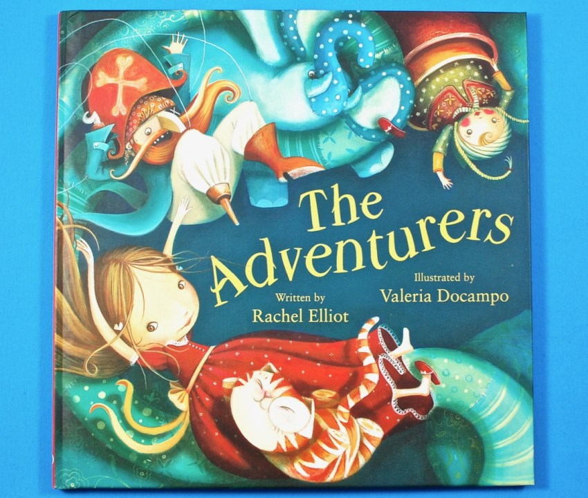 The Adventurers book