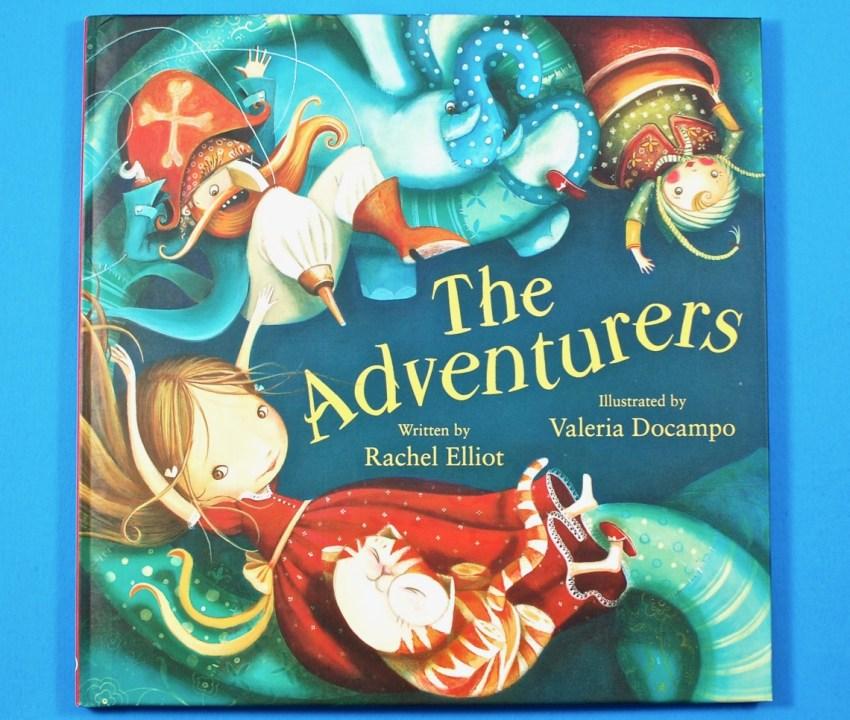The Adventurers book