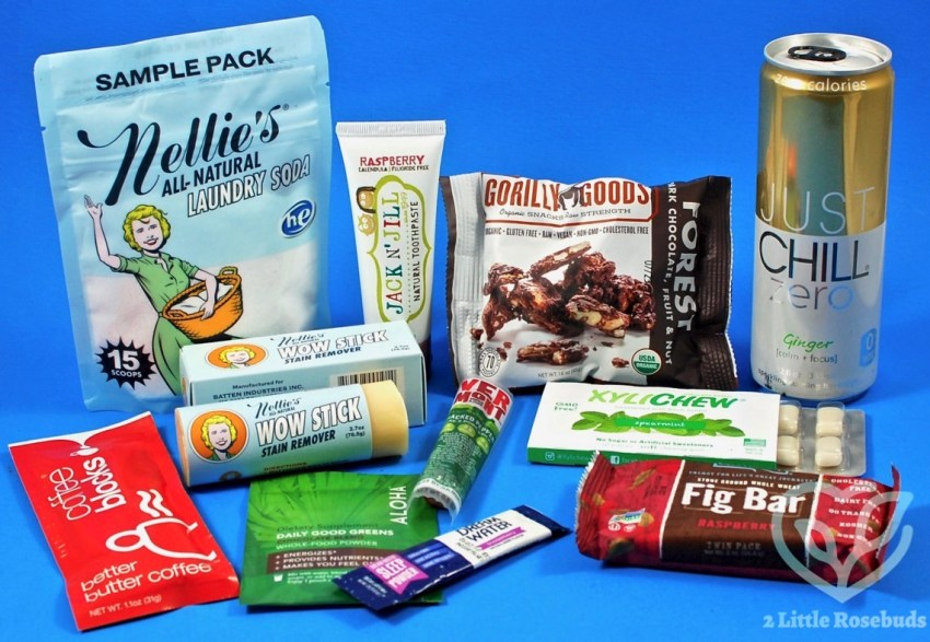 Daily Goodie Box February 2017 Free Sample Box Review