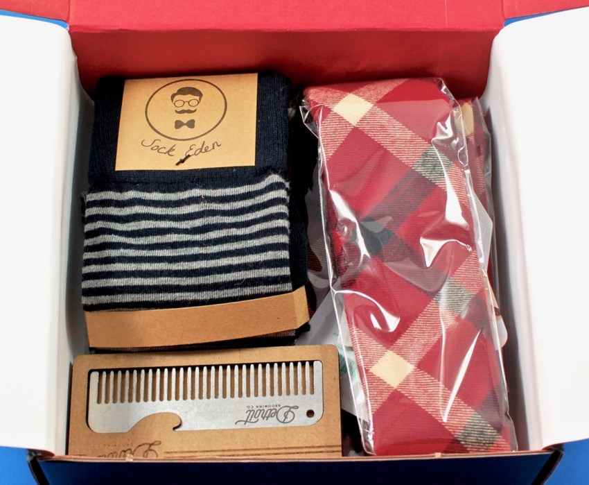 GentleMan's Box contents