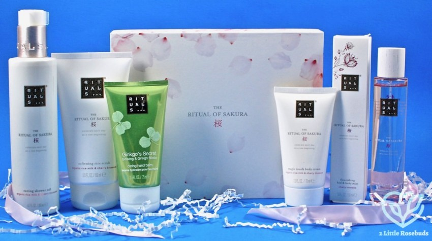 Glossybox Rituals Limited Edition Sakura Box Review