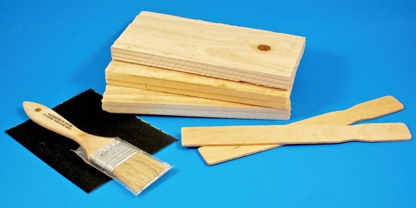 Wood pallets for string art