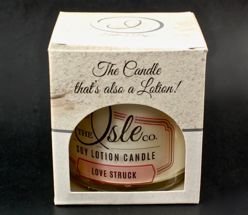 The Isle Co. soy lotion candle