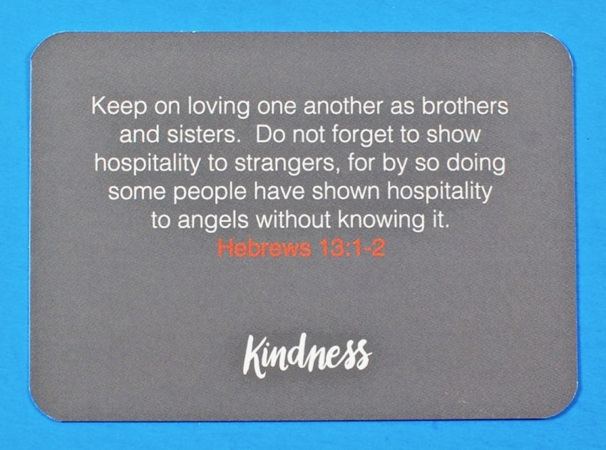 Loved and Blessed box scripture card