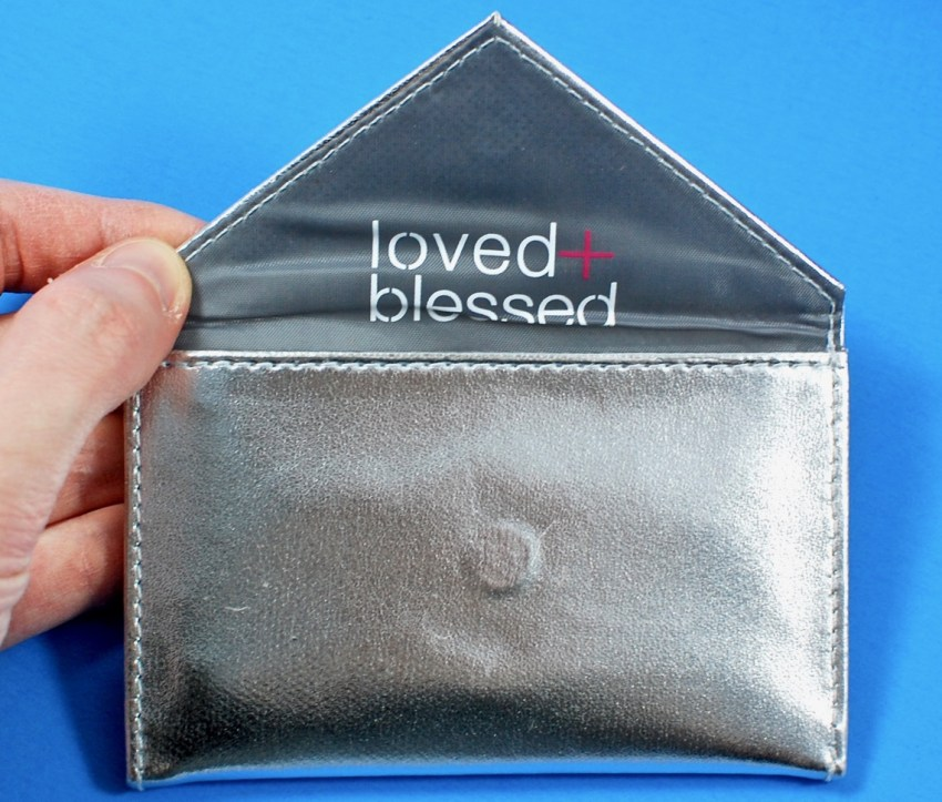 Loved + Blessed card case