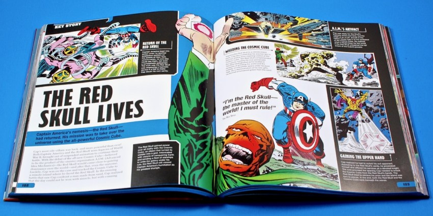 Captain America ultimate guide book