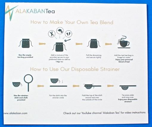 tea brewing guide