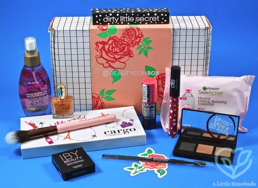 Spring 2017 Beautycon box review