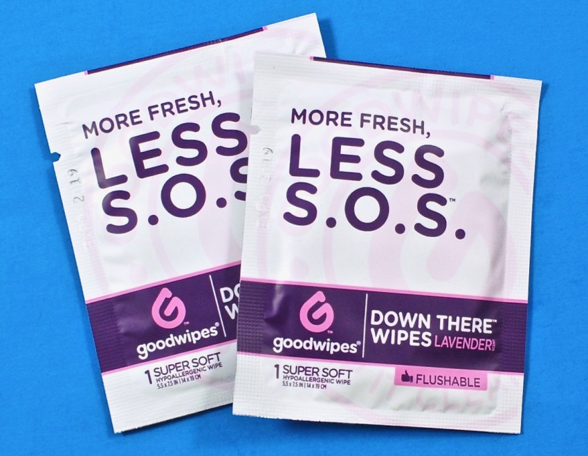 down there wipes