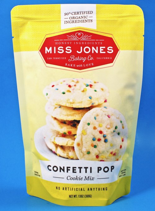 Miss Jones confetti pop cookie mix