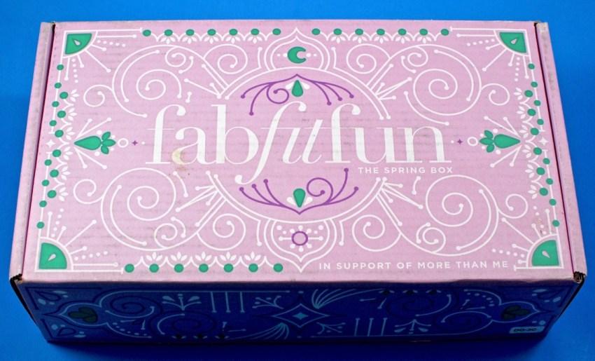 Spring 2017 FabFitFun box