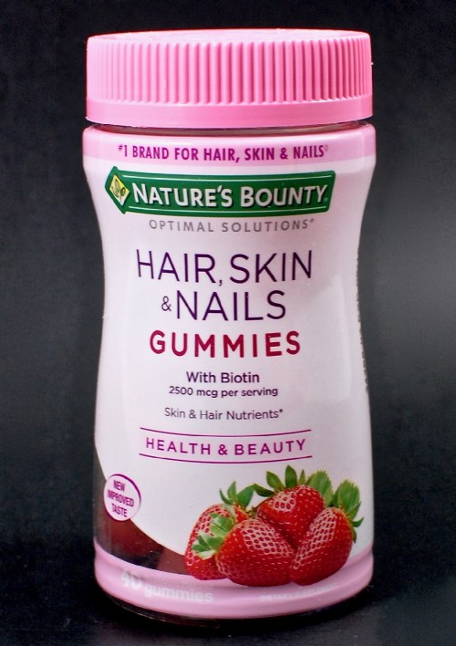 Natures Bounty hair skin nails