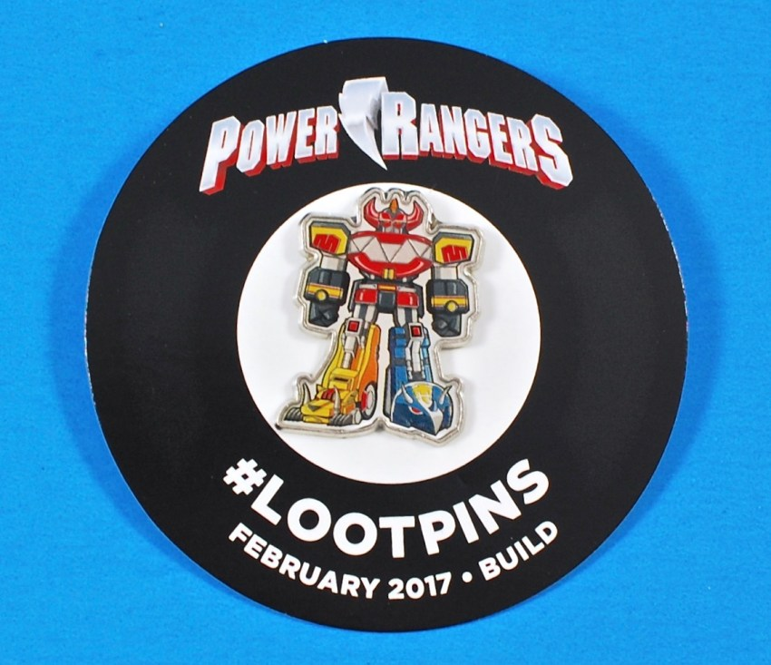 Loot Crate Power Rangers pin