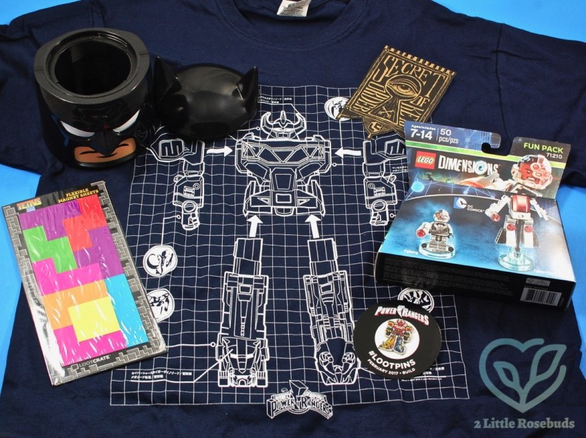"""Loot Crate February 2017 """"Build"""" Subscription Box Review & Coupon Code"""