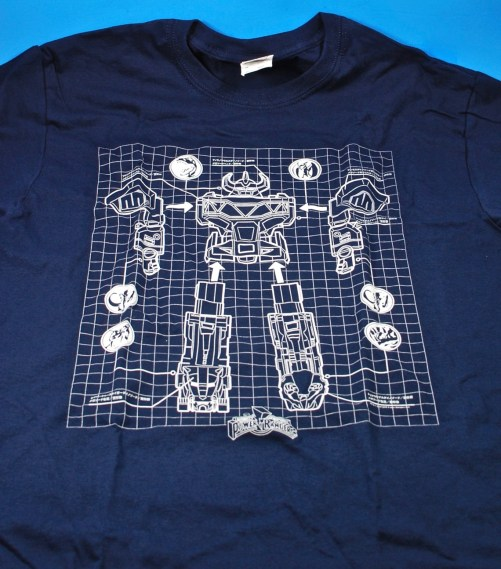 Power Rangers Megazord shirt