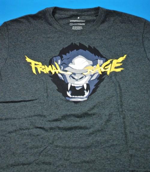 Loot Crate Primal Rage shirt