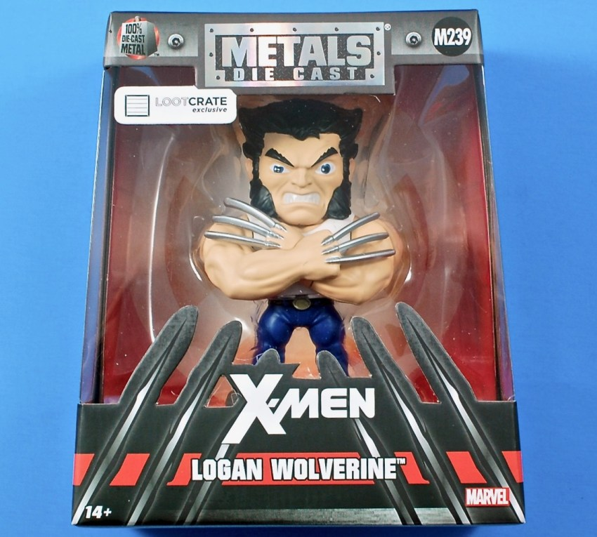 Die Cast Metal Wolverine figure
